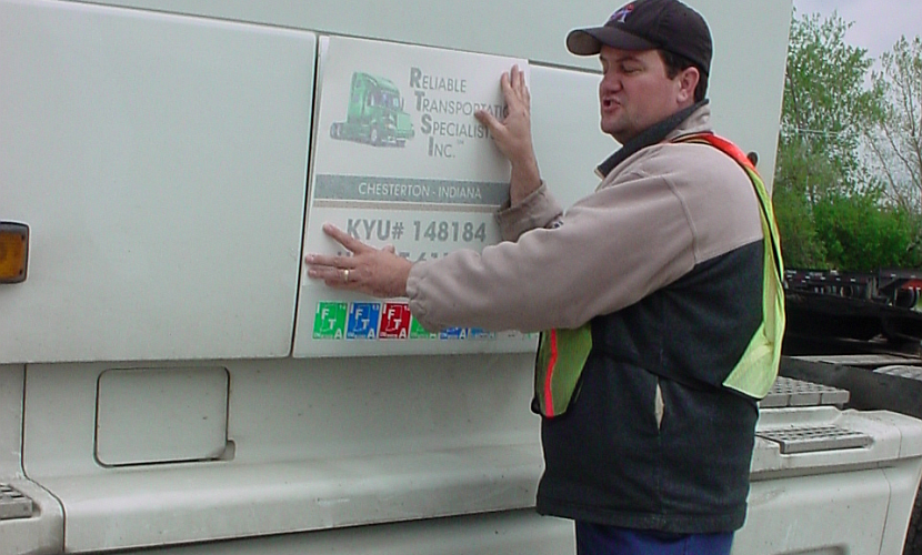 IC applying RTSI placards